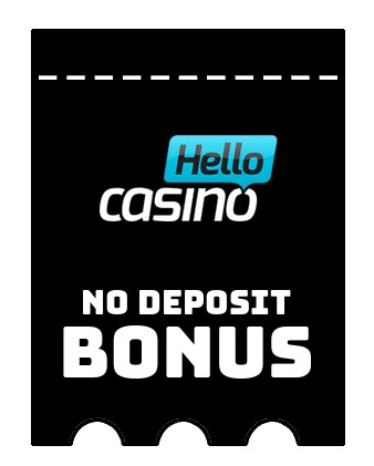 Hello Casino - no deposit bonus CR
