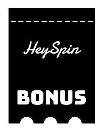 Latest bonus spins from HeySpin