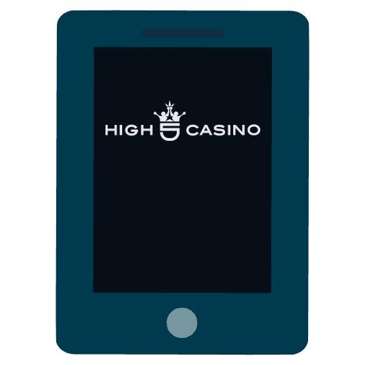High 5 Casino - Mobile friendly