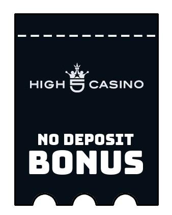 High 5 Casino - no deposit bonus CR