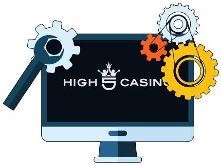 High 5 Casino - Software