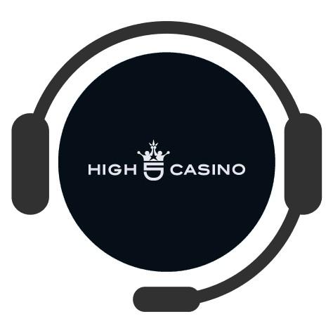 High 5 Casino - Support