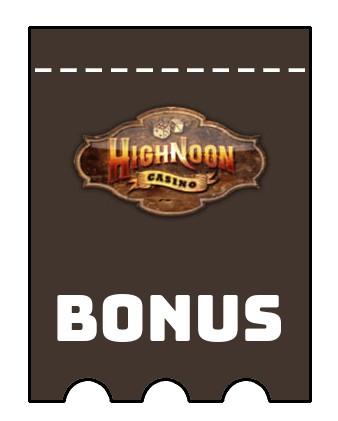 Latest bonus spins from Highnoon Casino