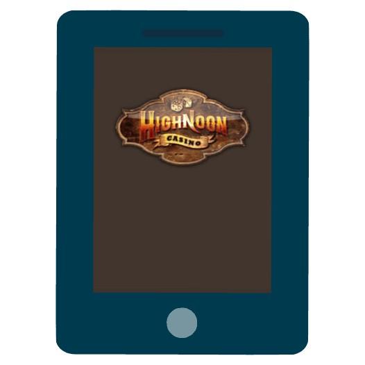 Highnoon Casino - Mobile friendly
