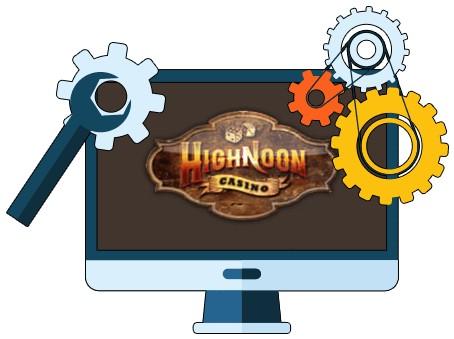 Highnoon Casino - Software