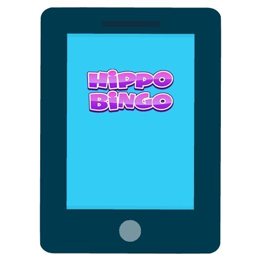Hippo Bingo Casino - Mobile friendly