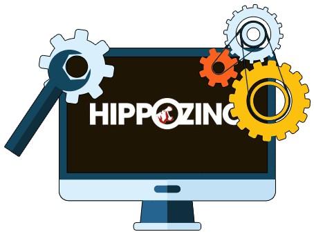 HippoZino Casino - Software
