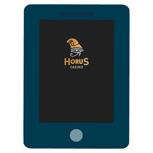 Horus Casino - Mobile friendly