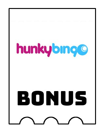 Latest bonus spins from Hunky Bingo Casino