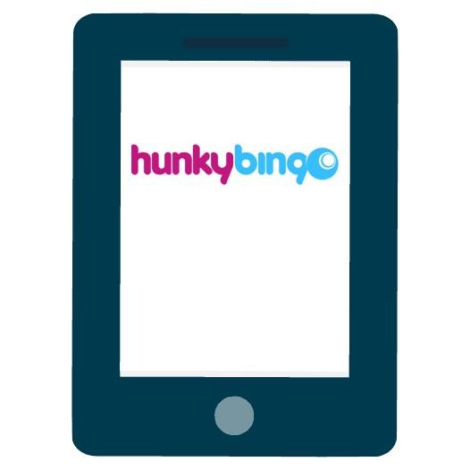 Hunky Bingo Casino - Mobile friendly