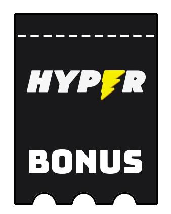 Latest bonus spins from Hyper Casino