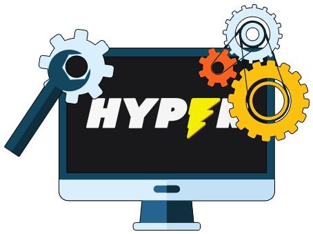 Hyper Casino - Software