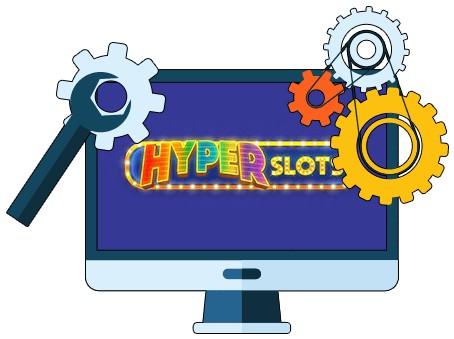 Hyper Slots Casino - Software