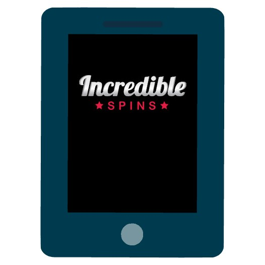 Incredible Spins Casino - Mobile friendly