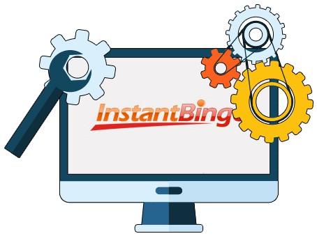InstantBingo Casino - Software