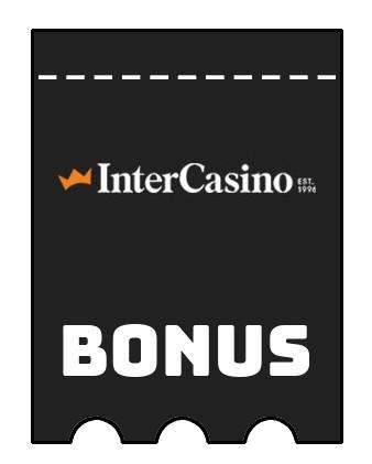 Latest bonus spins from InterCasino