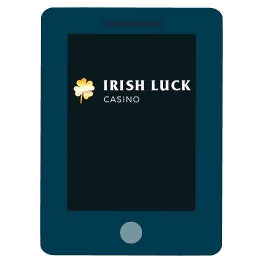 IrishLuck Casino - Mobile friendly