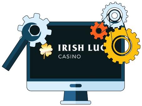 IrishLuck Casino - Software