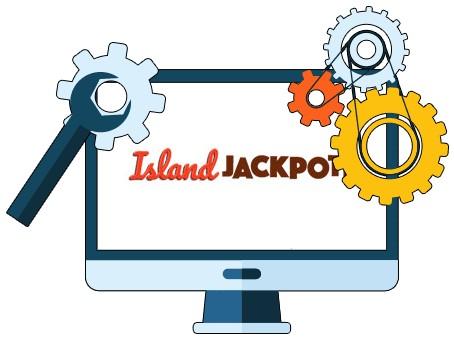 Island Jackpots Casino - Software