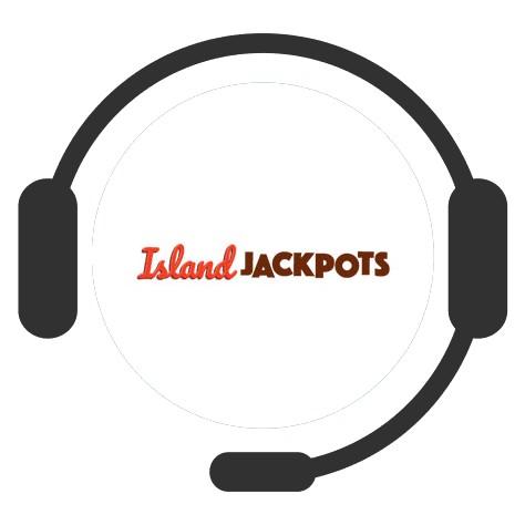 Island Jackpots Casino - Support
