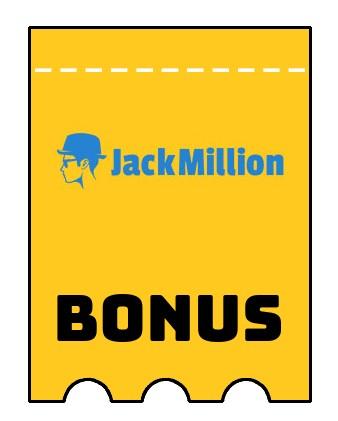 Latest bonus spins from JackMillion