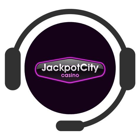 Jackpot City Casino - Support