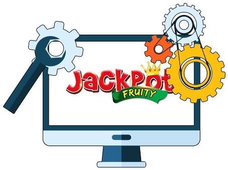 Jackpot Fruity Casino - Software