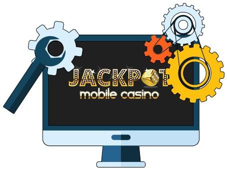 Jackpot Mobile Casino - Software