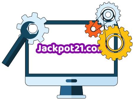 Jackpot21 Casino - Software