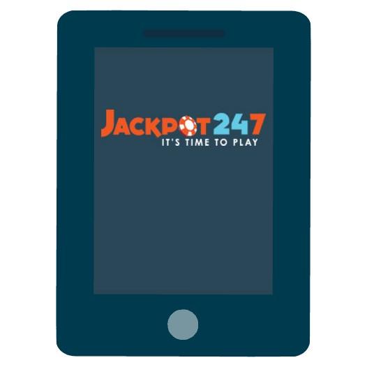 Jackpot247 Casino - Mobile friendly