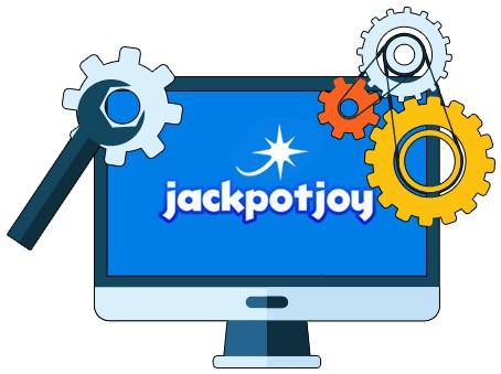 Jackpotjoy Casino - Software