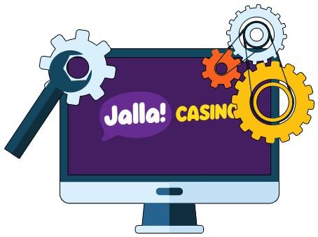 Jalla Casino - Software