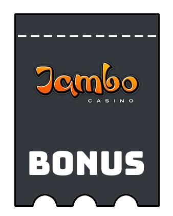 Latest bonus spins from Jambo Casino