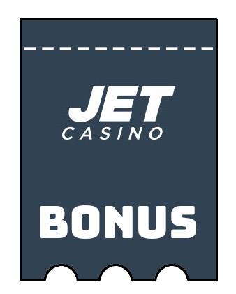 Latest bonus spins from JET Casino
