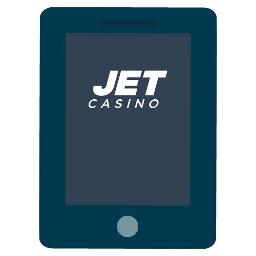 JET Casino - Mobile friendly