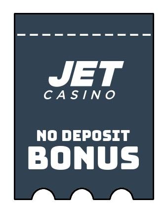 JET Casino - no deposit bonus CR