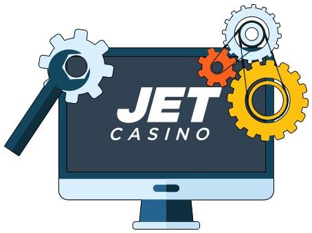 JET Casino - Software