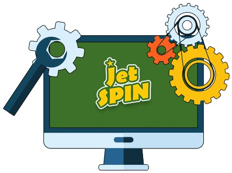 Jet Spin Casino - Software