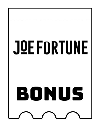Latest bonus spins from Joe Fortune