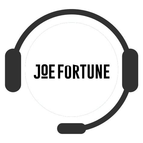 Joe Fortune - Support