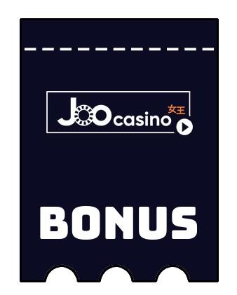 Latest bonus spins from Joo Casino