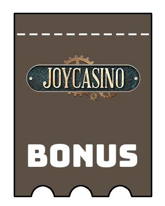 Latest bonus spins from JoyCasino
