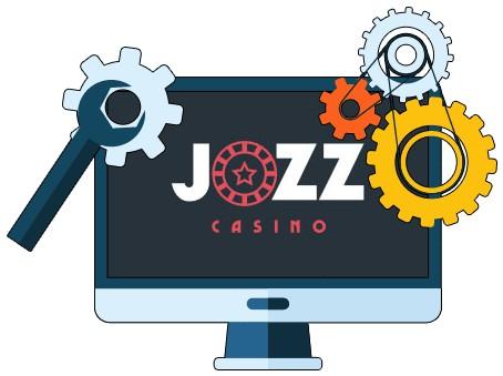 Jozz Casino - Software