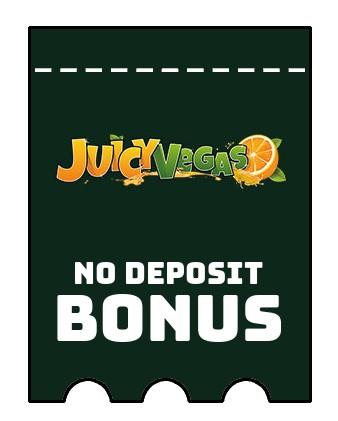 Juicy Vegas - no deposit bonus CR