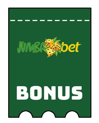 Latest bonus spins from Jumba Bet Casino