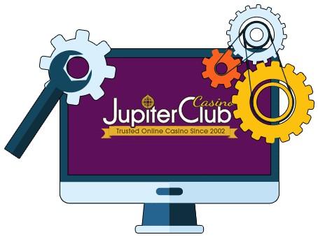 Jupiter Club Casino - Software