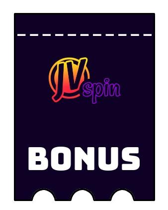 Latest bonus spins from JVspin