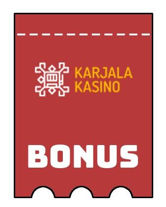 Latest bonus spins from Karjala Kasino