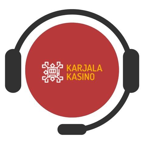 Karjala Kasino - Support