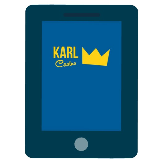 Karl Casino - Mobile friendly